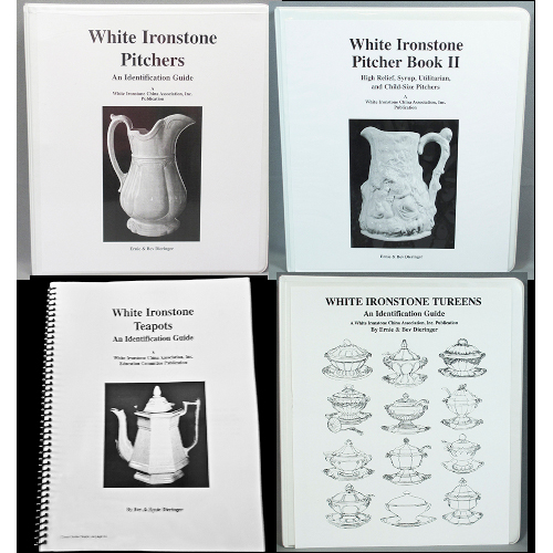 White Ironstone Identification Guides: Order 2, 3, or 4 Titles