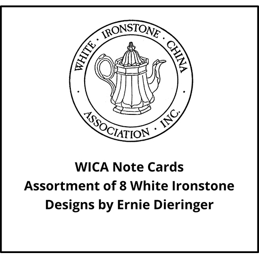 WICA Note Cards Assortment of 8 Designs by Ernie Dieringer