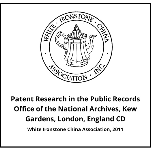 Patent Research in the Public Records Office of the National Archives, Kew Gardens, London, England CD