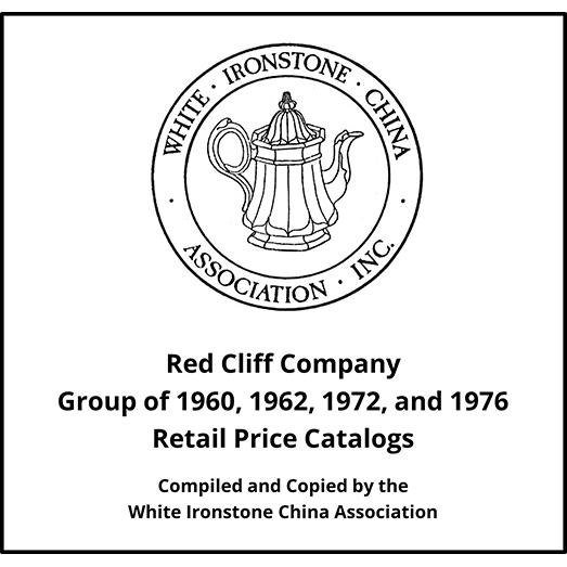 Red Cliff Company Price Catalogs