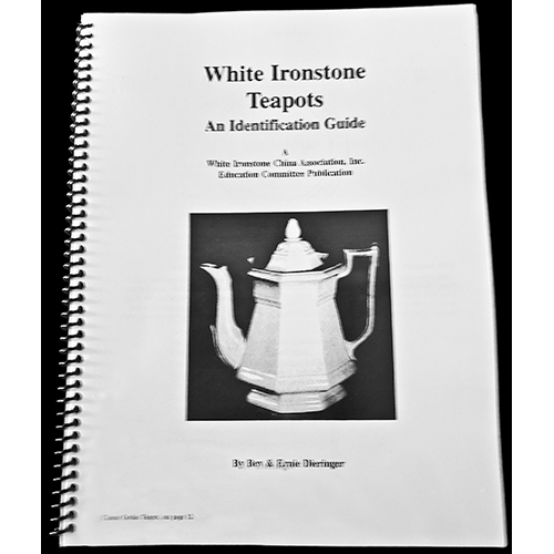 White Ironstone Teapots, An Identification Guide